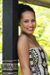 Janine Tuivaiti, Miss Samoa 2012Photo courtesy of Miss Samoa and Samoa Tourism Authority