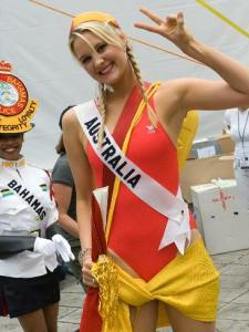 Kimberley Busteed, Miss Universe Australia 2007