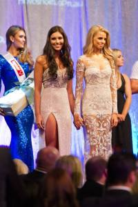Olivia Wells with First Runner up, Tegan Martin